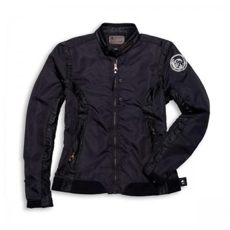 Ducati Clutch Nylon & Leather Jacket by Diesel