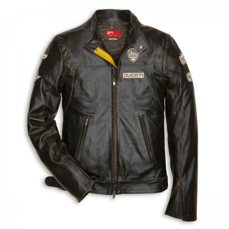 Ducati Historical 13 Leather Jacket