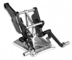 Ducati Billet Aluminium Adjustable Footpegs Kit