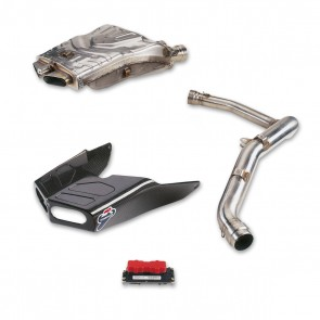 Ducati Stainless Steel Racing Exhaust System Kit