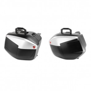Ducati Set of Rigid Side Panniers