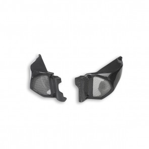 Ducati Pair of Carbon Oversize Diameter Air Ducts