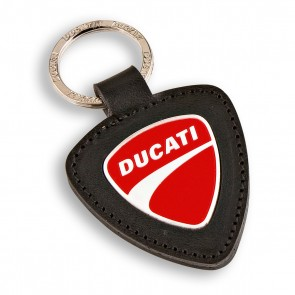 Ducati Company Leather Keyring