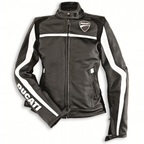 Ducati Womens Twin Leather Jacket