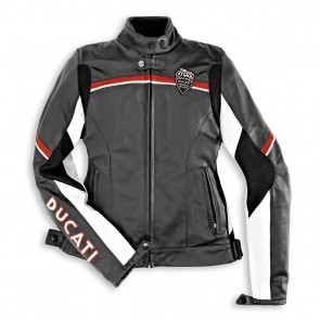 Ducati Womens Meccanica 11 Leather Jacket