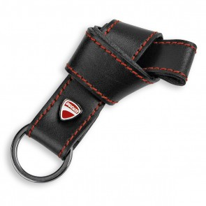 Ducati Company Leather Key Ring