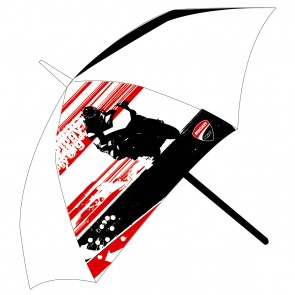 Ducati Corse '11 Pocket Umbrella