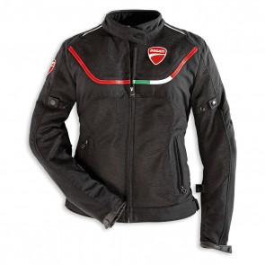 Ducati Womens Flow 12 Fabric Jacket