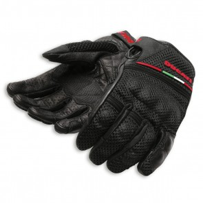 Ducati Fabric-Leather Gloves Summer 13