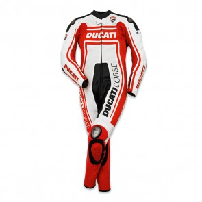 Ducati Corse 14 One-Piece Leather Suit