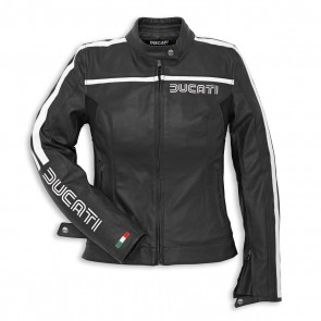 Ducati Womens 80S 14 Leather Jacket