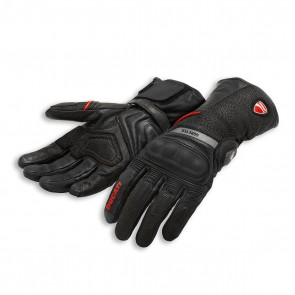 Ducati Strada C3 Fabric-Leather Gloves