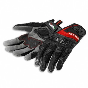 Ducati Summer 2 Fabric-Leather Gloves