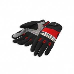 Ducati Pitlane 2 Fabric-Leather Gloves