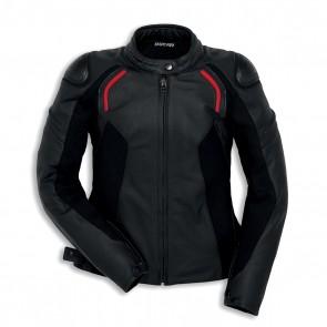Ducati Ladies Leather Jacket Stealth C2