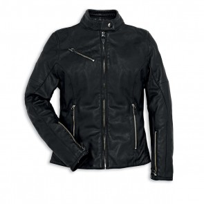 Ducati Ladies Leather Jacket Downtown C2
