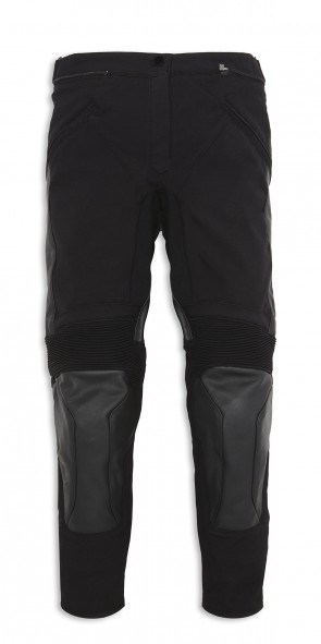 Ducati Ladies Fabric-Leather Trousers Company C2