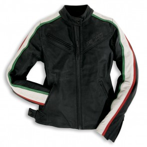 Ducati Womens Panigale Leather Jacket