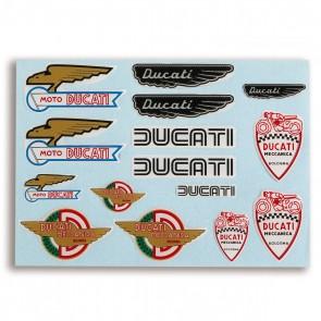 Ducati Historical Sticker Set