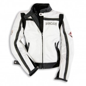 Ducati Womens Meccanica Leather Jacket