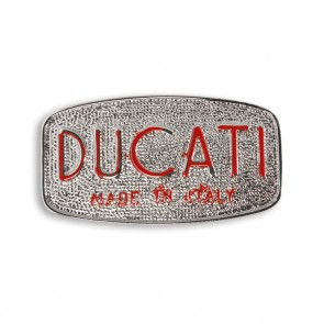Ducati Made In Italy 09 Buckle
