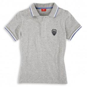 Ducati Womens Meccanica 11 Short-Sleeved Polo Shirt