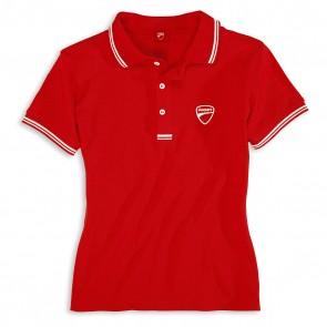 Ducatiana Womens Short Sleeved Polo Shirt