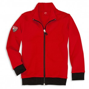 Ducati Corse 12 Kids Full Zip Sweatshirt