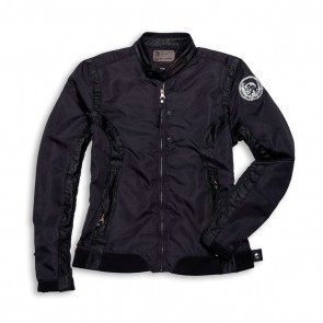 Ducati Clutch Nylon & Leather Jacket by Diesel