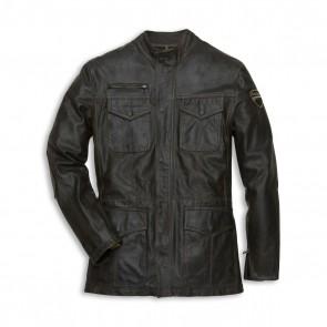 Ducati Vintage 4 Pockets Leather Jacket