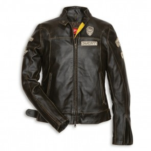 Ducati Historical 13 Womens Leather Jacket