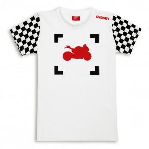 Ducati Kids Click Graphic T-Shirt