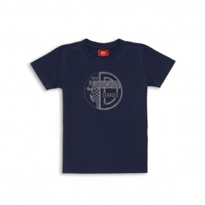 Ducati Emblema Short-Sleeved Kids T-Shirt