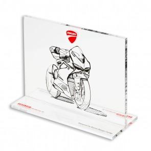 Ducati 1199 Panigale Memorabilia Plexiglass