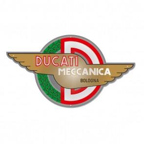 Ducati Meccanica Metal Insignia