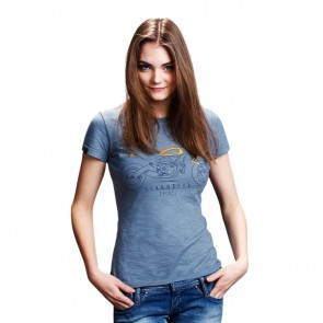 Womens Scrambler Heritage T-Shirt