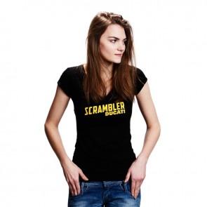 Scrambler Womens Midnight T-Shirt