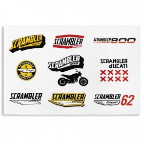 Scrambler Lifestyle Sticker Set