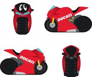 Ducati Cartoon Moneybox