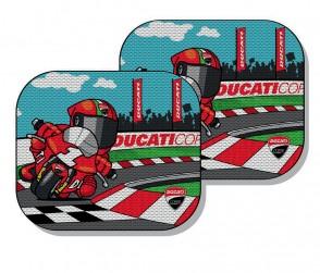 Ducati Cartoon Sun Blinds