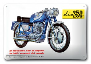 Ducati Diana 250 Metal Sign