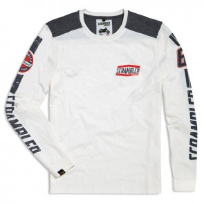 Scrambler Flat Track Long-Sleeved T-Shirt