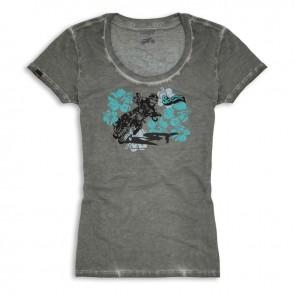 Scrambler Womens Hawaiian Rider T-Shirt