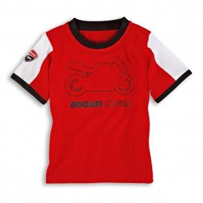 Ducati Corse Kids Short Sleeved T-Shirt
